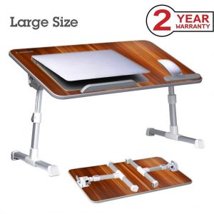 Avantree-Adjustable-Portable-Standing-Breakfast_Brown
