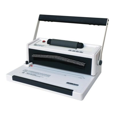 TruBind Coil-Binding Machine With Electric Coil Inserter TB-S20A Professionally Bind Books and Documents Office or Home Use Adjustable Hole-Punching and Paper-Size Settings 2-Year Factory Warranty