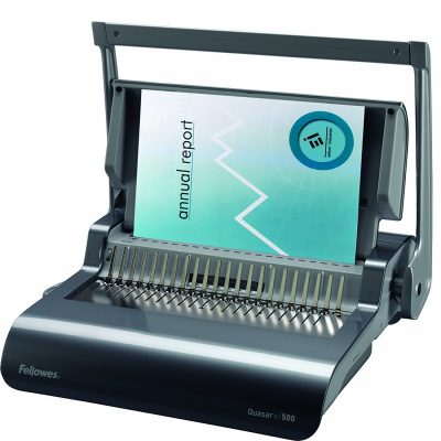 Fellowes Binding Machine Quasar+ Comb Binding (5227201)