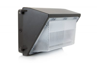 HyperSelect LED 80W Wall Pack Light, Hyperikon, HPS/HID Replacement, 5000K (Crystal White Glow), 6500 lumen, UL Listed