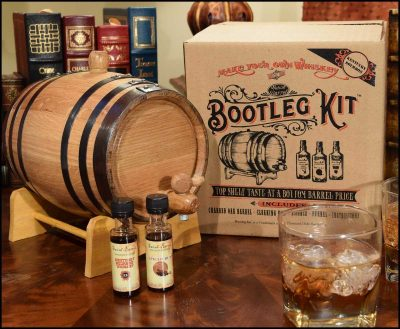 Bootleg Kit™ Barrel Aged Kentucky Bourbon Making Kit