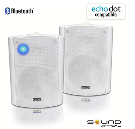 Bluetooth-525″-IndoorsOutdoor-Weather-proof-Speakers-(White)-by-Sound-Appeal