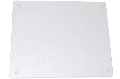 Vance 20 X 16 inch Clear Surface Saver Tempered Glass Cutting Boards, 82016C