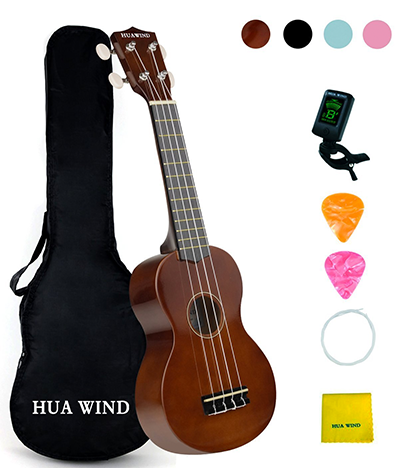 HUAWIND-Rainbow-21-Inches-Beginner's-Ukulele