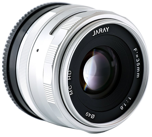 JARAY-Fashion-Silver-M43-Manual-Focus-Lens