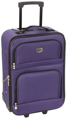 Jetstream 20 Inch Lightweight Luggage Softside Carry On Suitcase
