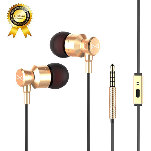 Marsno-M1-Wired-Metal-In-Ear-Headphones
