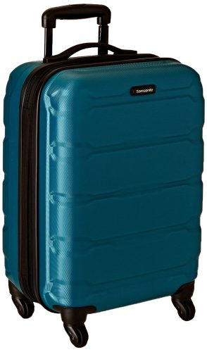Samsonite Omni PC Hardside 20-Inch One Size Spinner - Caribbean Blue