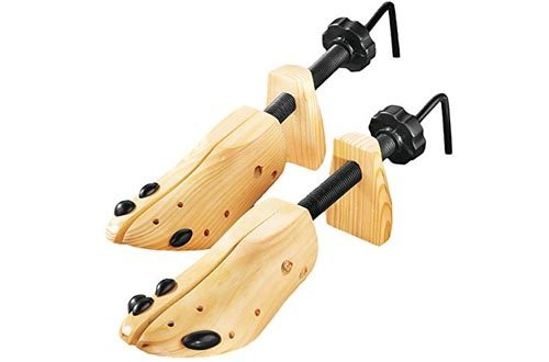 Deluxe Wood Shoe Stretcher, Set of 2