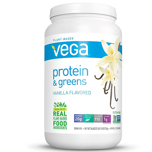 Vega-Protein-&-Greens-Protein-Shake,-Vanilla,-26.8-ounces,-25-servings
