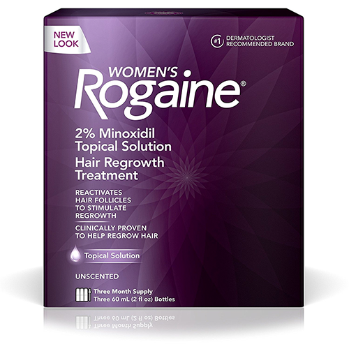 Women's-Rogaine-Treatment-for-Hair-Loss-and-Hair-Thinning-Minoxidil-Solution,-Three-Month-Supply