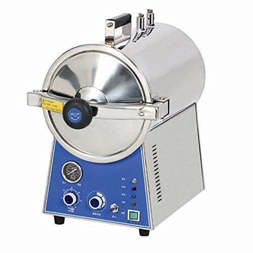 APHRODITE 24L Portable Pressure Stainless Steel Steam Autoclave Sterilizer For Lab