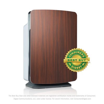 Alen BreatheSmart Customizable Air Purifier with HEPA-Silver Filter to Remove Allergies, Mold & Bacteria (Rosewood, Silver, 1-Pack)