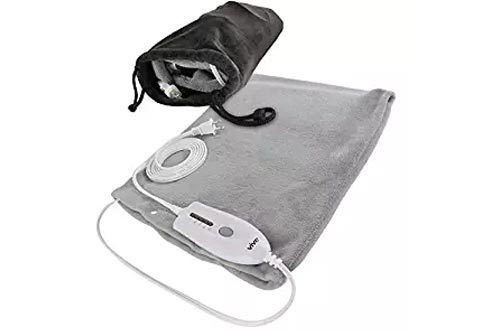 Heating Pad by Vive (XL) - Electric Warming Hot Wrap for Moist Heat Therapy on Back, Knee, Shoulder, Neck Pain - Sinus, Menstrual Cramps, Arthritis, Cats, Dogs, Pets