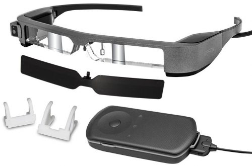 Epson Moverio BT-300FPV Smart Glasses for DJI Drones (FPV-Drone Edition)
