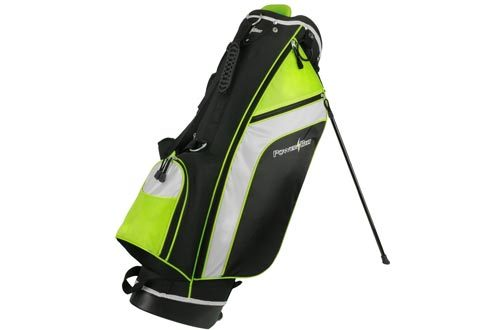 PowerBilt Santa Rosa Black/Green Stand Golf Bag (Black/Green)