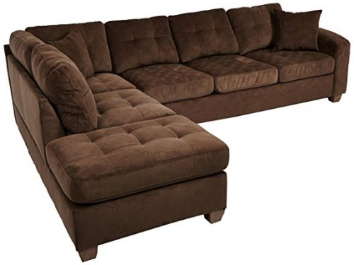 Homelegance-Sectional-Polyester-Reversible-Chocolate