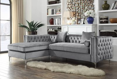 Iconic-Home-Tufted-Silver-Sectional