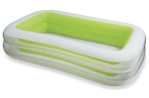 "Intex Swim Center Family Inflatable Pool, 103"" X 69"" X 22"", for Ages 6+"