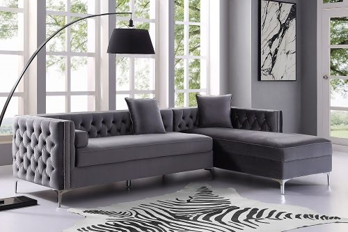 Inspired-Home-Giovanni-Chaise-Sectional