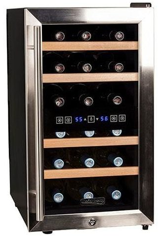 KoldFront TWR 187ESS 18 Bottle Free standing dual zone wine cooler