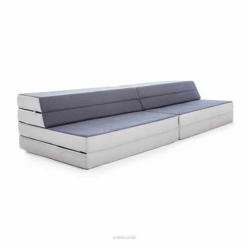 LUCID-King-Convertible-Folding-Mattress-Sofa