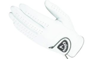 Leather Golf Glove for Men
