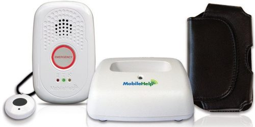 MobileHelp Solo - Mobile Medical Alert System for Seniors. On the Go Remotely Activated, Nationwide GPS, 3 Months of Extended Service Included