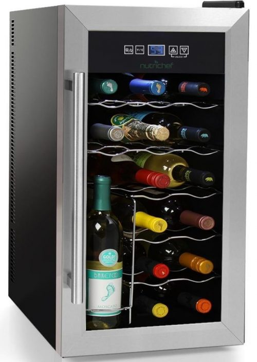NutriChef 18 Bottle Thermoelectric wine coolers