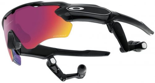 Oakley Polished Black-Prizm Road Radar Pace Sunglasses