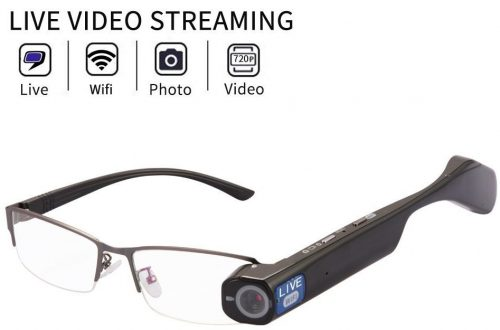 Online Live Stream Camera Glasses 32GB