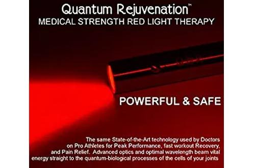Quantum Rejuvenation™ Introductory Sale - Pain Relief Red LED Light Therapy Device Joint & Muscle Reliever MEDICAL GRADE