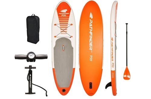 "Pathfinder Inflatable SUP Stand Up Paddle boards 9' 9"" (5"" Thick)"