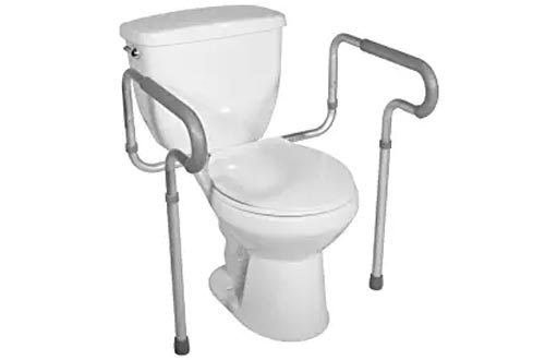 Drive Medical Toilet Safety Frame, White