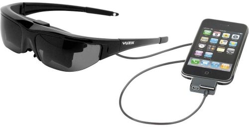 Vuzix Wrap 310XL Widescreen Video Iwear Eyewear Glasses