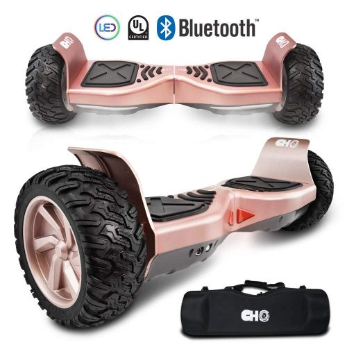 CHO Electric Hoverboard All Terrain Rugged Hoover Board Off-Road Smart