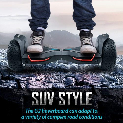 Gyroor Warrior 8.5 inch All Terrain OFF ROAD Hoverboard with Bluetooth Speaker