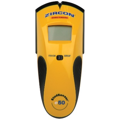 Zircon StudSensor e50 Electronic Wall Scanner:Edge Finding Stud Finder:Live AC WireWarning