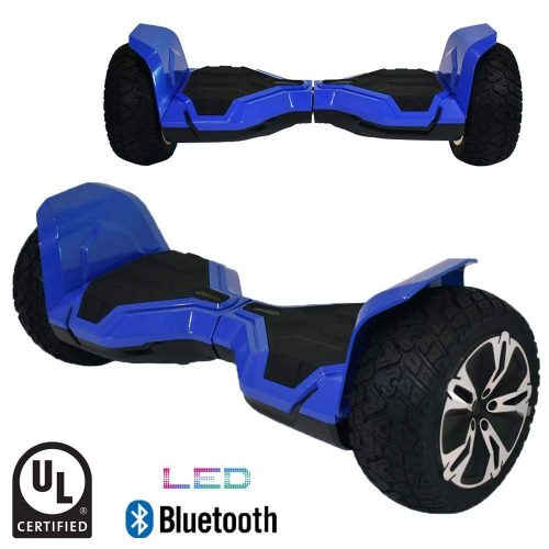 "BornTech UL2272 Certified All Terrain 8.5"" Wheels Off Road HoverBoard"