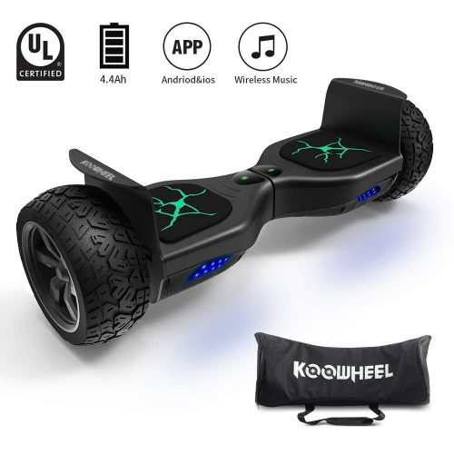 "KOOWHEEL Off Road Hoverboard All Terrain 8.5"" Alloy Wheel"