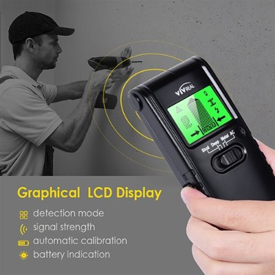 Stud Finder Wall Scanner - 3 in 1 Electric Multi-Function Wall Detector Finders