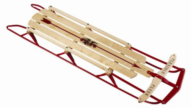 Flexible Flyer Steel Runner Sled, 60-inch