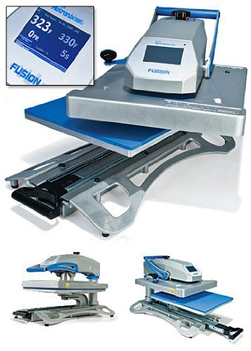 "Hotronix Fusion 16""x20"" Heat Press Swing-Away MADE IN USA - Heat Transfer Press Machine Built To Last! TOP 10 BEST HEAT PRESS MACHINES IN 2021 REVIEWS"