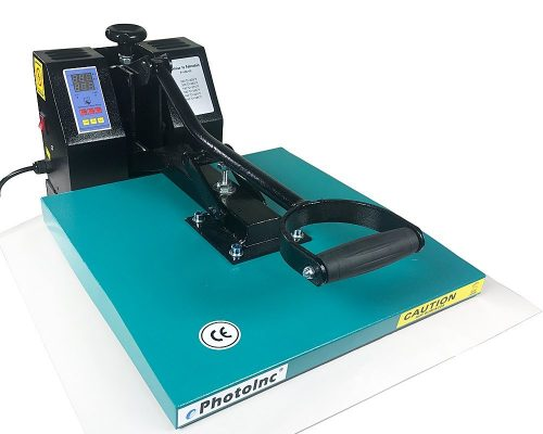 "ePhoto New Digital 15"" x 15"" T-Shirt Heat Transfer Press Sublimation Heat Press Machine 1515GB"