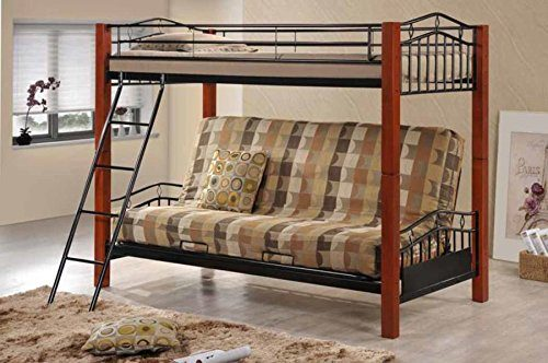 Coaster-Bunk-Futon-Convertible-Twin