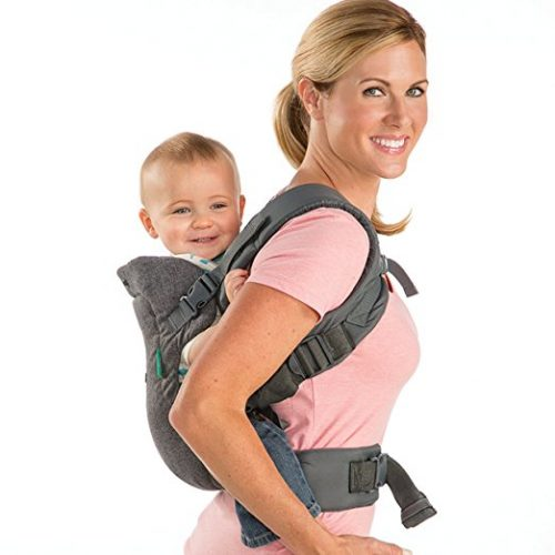 Infantino Flip 4-in-1 Convertible Baby Carrier for Newborn