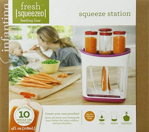 Infantino Squeeze Station Baby Food Makers