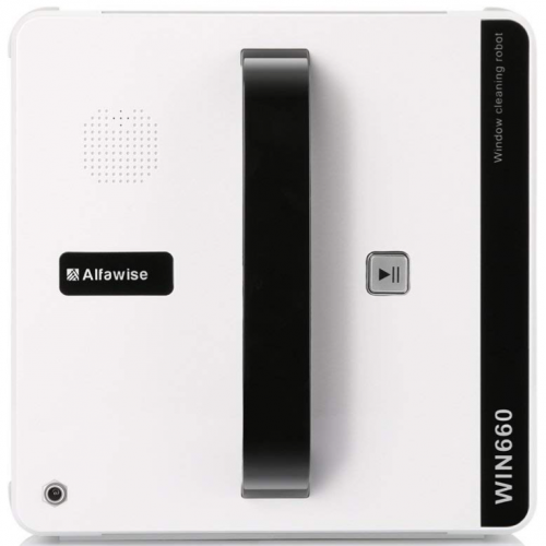Alfawise WIN660 Robotic Window Cleaner,Magnetic Vacuums Robot Automatic Smart