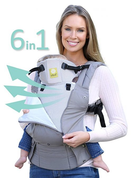 Six-Position Ergonomic Best Baby Carrier by LILLEbaby
