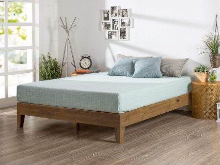 Zinus Deluxe Wood Platform Beds, Strong Wooden Beds